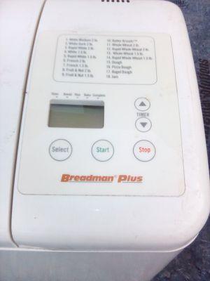 Breadman automatic bread maker for Sale in Vista, CA
