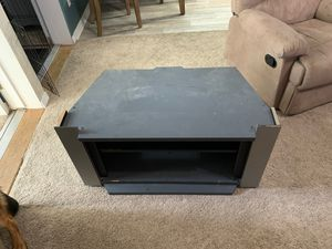 Free 37 1/2 inch grey TV stand for Sale in Gulf Breeze, FL
