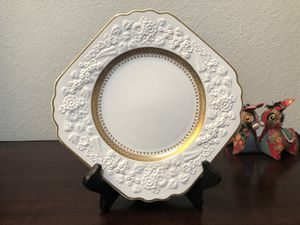 Antique George Jones Sons Crescent China Rhapsody Pattern Plate for Sale in Tacoma, WA