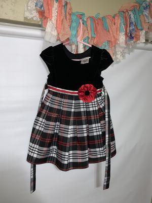 Toddler Girl Plaid Dress with Flower Dress for Sale in Lemon Grove, CA