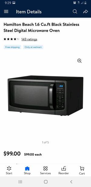 Microwave nuevo grande for Sale in Mesquite, TX