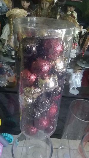 50 ornaments shatterproof for Sale in Sanford, FL
