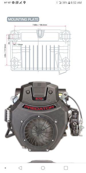 Predator 22 HP (670cc) V-Twin Horizontal Shaft Gas Engine Key Start New Harbor Freight for Sale in Phoenix, AZ