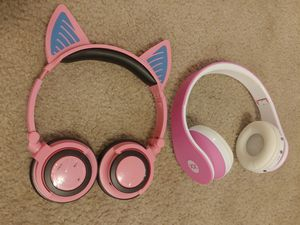 2 Kids Bluetooth Headphones - Rechargeable for Sale in Lake Forest Park, WA