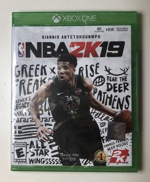 NBA 2k19 XBOX ONE - Brand new (factory sealed) for Sale in Miami, FL