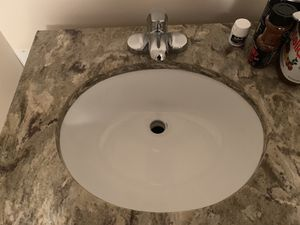 Vanity Cabinet 36 stone sink and foucet for Sale in Fairfax, VA