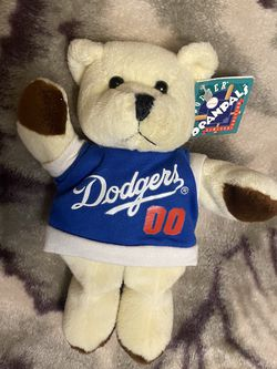 "Los Angeles Dodgers Beanpals Kellytoy Teddy Bear Bearbino 00 Plush 6"" for Sale in Oxnard,  CA"