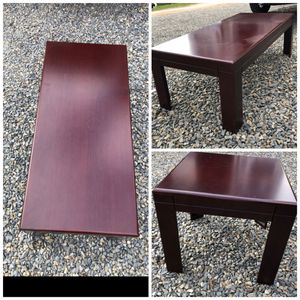 Coffee table with 2 side tables for Sale in Laguna Hills, CA