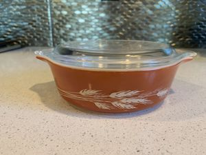Pyrex Autumn Harvest Wheat #471-b - Vintage small casserole for Sale in Portland, OR