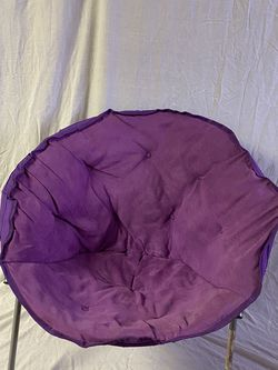 Purple Circle Chair for Sale in Valley Stream,  NY