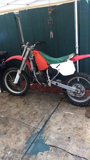 1990 Honda cr125r dirtbike for Sale in San Jose, CA