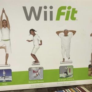 Wii Fit Balance Board And Game for Sale in Fort Worth, TX