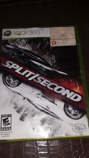 Xbox 360 split second game for Sale in Dallas, TX