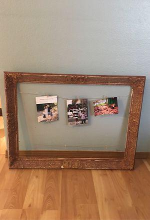 Decorative antique frame for Sale in Covington, WA