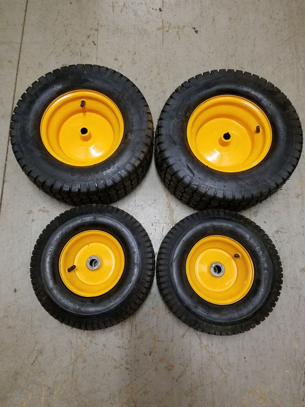 New Poulan PP11G30 riding mower parts: engine, tires, seat deck blade steering wheel battery axle transmission