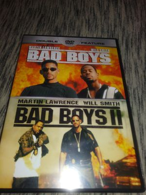 Bad Boys 1 and 2 combo pack Dvd Set for Sale in Kansas City, MO
