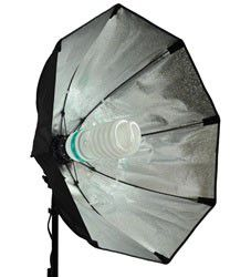 Cowboy studio octagon softbox light with lamp for Sale in Greenville, SC