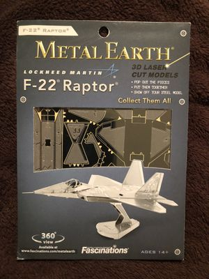 Used, Toys-Fascinations MetalEarth 3D Laser Cut Model for Sale for sale  Orlando, FL