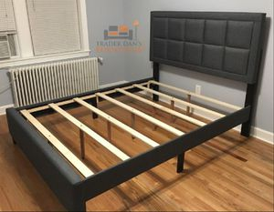 Brand new queen size platform bed frame (it's also available in king and in full size) for Sale in Silver Spring, MD