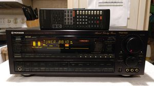 High Power Pioneer Stereo Receiver Amplifier Tuner with Remote for Sale in Colliers, WV