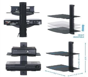 Black DVD wall mount for Sale in Los Angeles, CA
