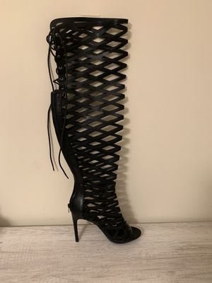Fishnet Thigh High Boots for Sale in Virginia Beach, VA