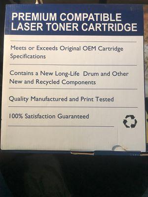 Premium compatible laser toner cartridge for Sale in Lakeland, FL