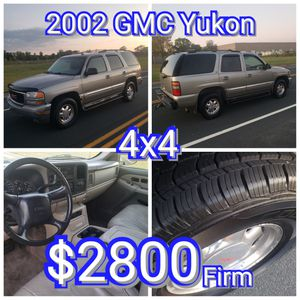 2002 GMC Yukon-Good To Go for Sale in Ramsey, MN
