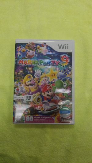 Nintendo Wii Mario Party 9 In Great Condition With Case for Sale in Edgewood, WA