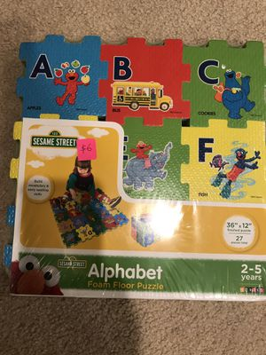 Alphabet foam mat brand new / cash sale only for Sale in San Jose, CA