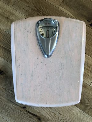 Light Pink Vintage Borg Bathroom Scale for Sale in Seattle, WA