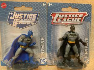 BATMAN Bundle Justice League Mattel Mini Action Figure for Sale in Perris, CA