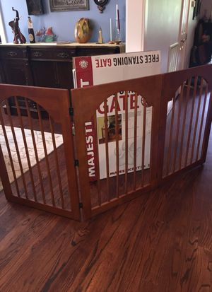 Extra Wide, Brand New, Wood Pet Gate for Sale in Houston, TX