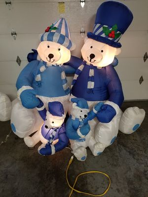 Bear family inflatable for Sale in Kenmore, WA