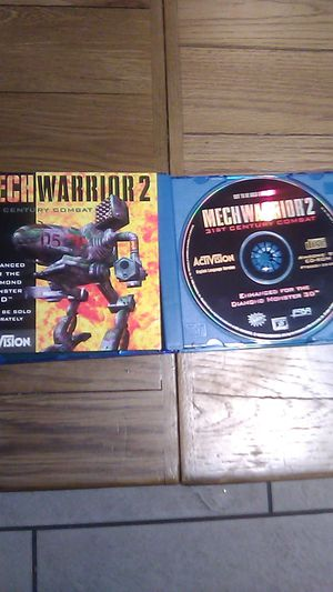 MechWarrior 2 - 31st Century Combat! Classic PC Game like new for Sale in Rowland Heights, CA