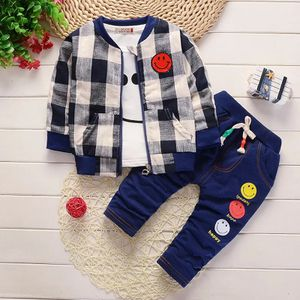 autumn children's clothing 3 pieces Set for Boys and girls Cotton Kids clothing baby clothes Smiley face pattern for Sale in Orlando, FL