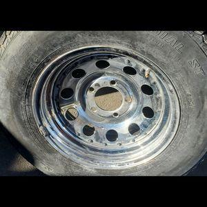 Trailer Rims Tires 205/75/14 for Sale in Riverside, CA