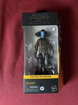 Star Wars the black series cad bane for Sale in Gibsonton, FL