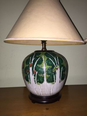 Two ceramic lamps for Sale in Greenwich, CT