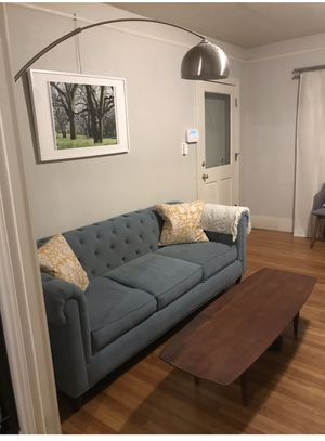Beautiful Blue couch for sale for Sale in Oakland, CA