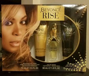 Beyonce Rise 3 Piece Fragrance Perfume Bath & Body Gift Set for Sale in Buffalo, NY