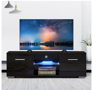 Modern TV Stand Unit Cabinet w/ LED Shelves Entertainment Center for Sale in Phoenix, AZ