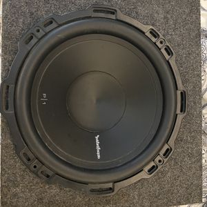 12' Sub With Box for Sale in Riverside, CA