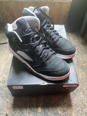 Jordan retro 5 Oreo size 10 1/2 for Sale in Columbus, OH