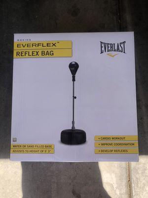 Everlast Standing Reflex Punching Bag! for Sale in Las Vegas, NV