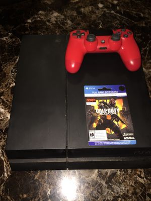 PS4 with 9 games for Sale in Denver, CO