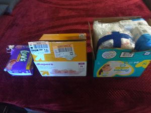 Over 200 newborn baby diapers for Sale in Tracy, CA