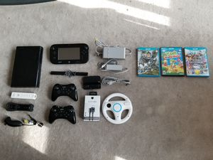 / Nintendo Wii U console 32GB with 3 games` for Sale in San Francisco, CA