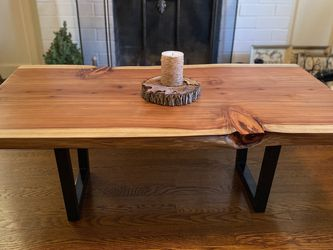 Live Edge Redwood Coffee Table for Sale in San Francisco,  CA