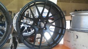 "Wheels: New Stance SC9 19"" Staggered Flat Black Wheels for Sale in Seattle, WA"